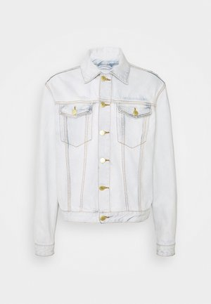 BOXY JACKET - Chaqueta vaquera - light stone wash
