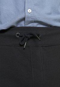 Pier One - 3 PACK - Shortsit - black/mottled light grey/dark blue - 5