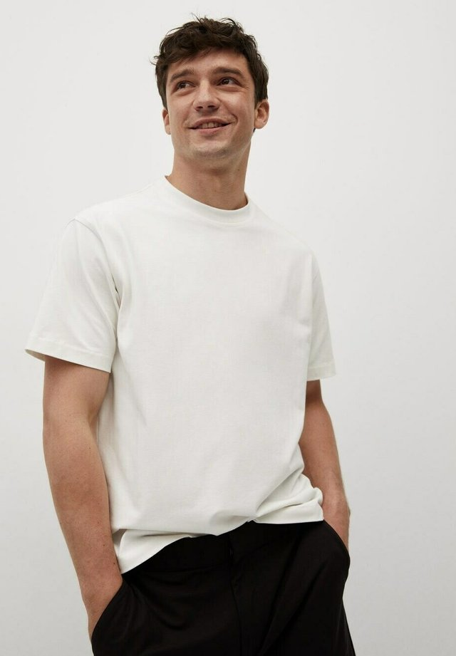 T-Shirt basic - gebroken wit