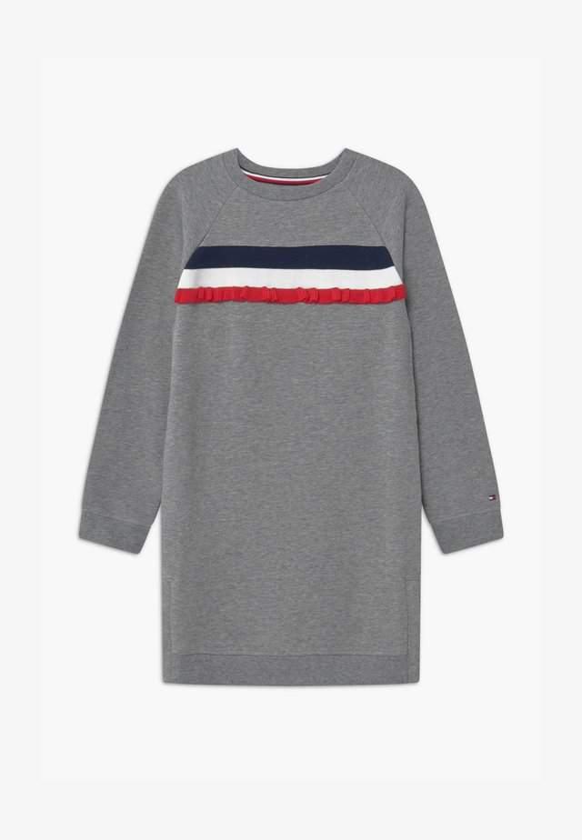 RUFFLE - Vestito estivo - grey