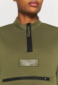 adidas Performance - TERREX UTILITAS HALF ZIP - Long sleeved top - focus olive - 5