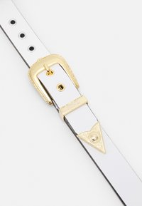 Versace Jeans Couture - PIN BUCKLE - Pásek - bianco ottico - 4