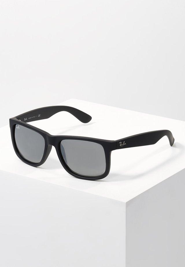 JUSTIN - Sonnenbrille - black/grey mirror