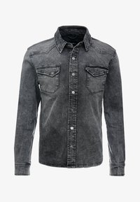 Tigha - FRED USED - Shirt - vintage black - 4