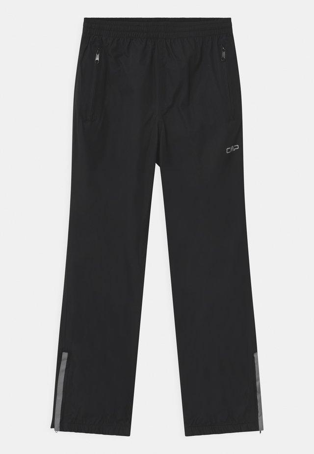 RAIN UNISEX - Pantaloni impermeabili - nero