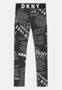 DKNY - Leggings - Trousers - black/white - 0
