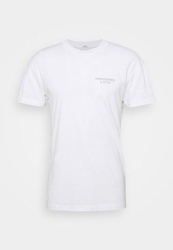 CITY IMAGERY - T-shirt med print - white