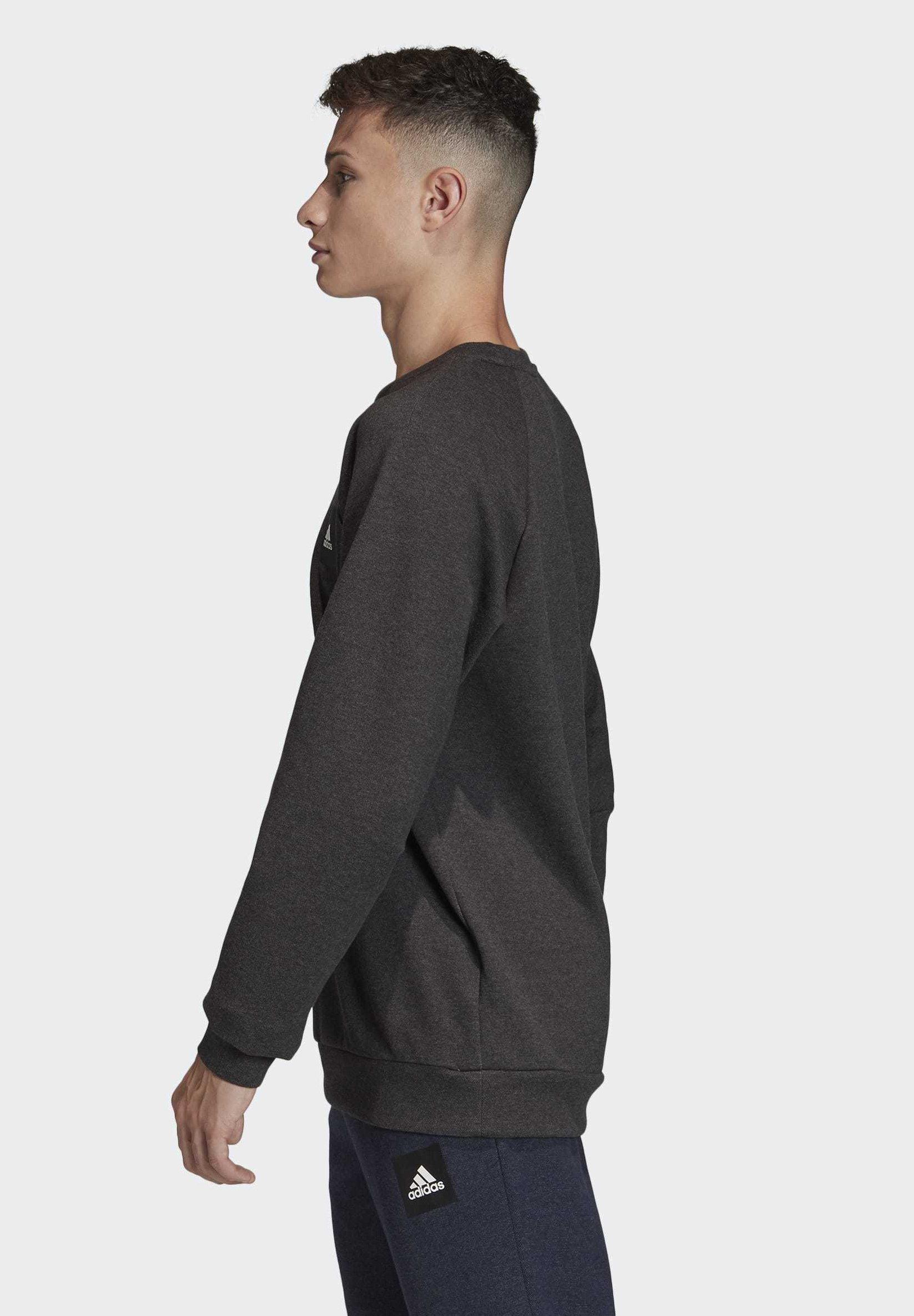 adidas Performance MUST HAVES STADIUM CREW SWEATSHIRT - Sweatshirt - black