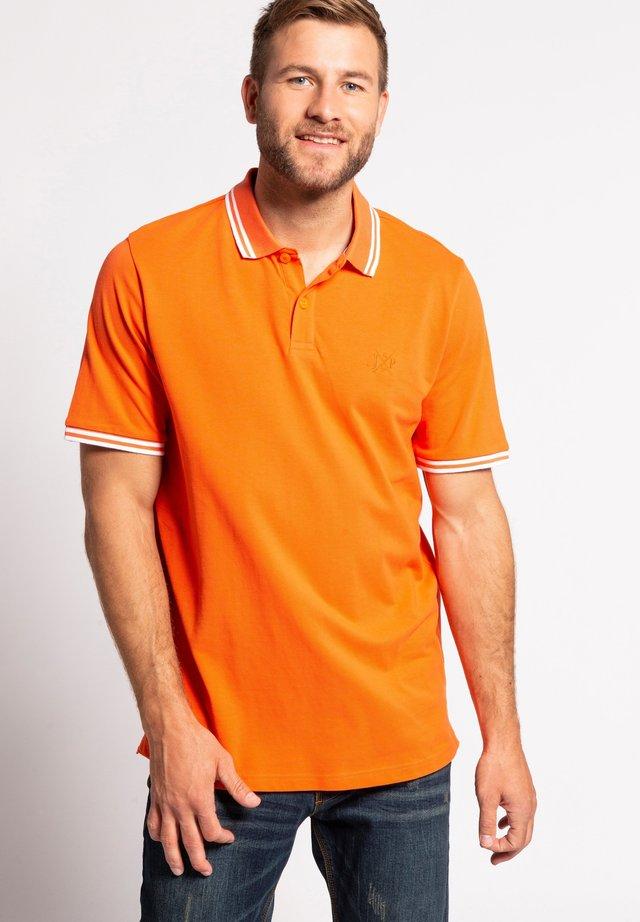 Poloshirt - hell-orange