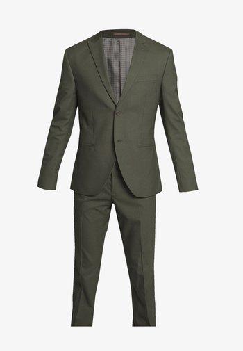 PLAIN SUIT - Kostym - khaki