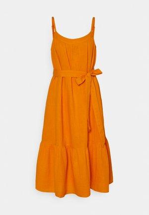 TIE WAIST DRESS - Day dress - mango