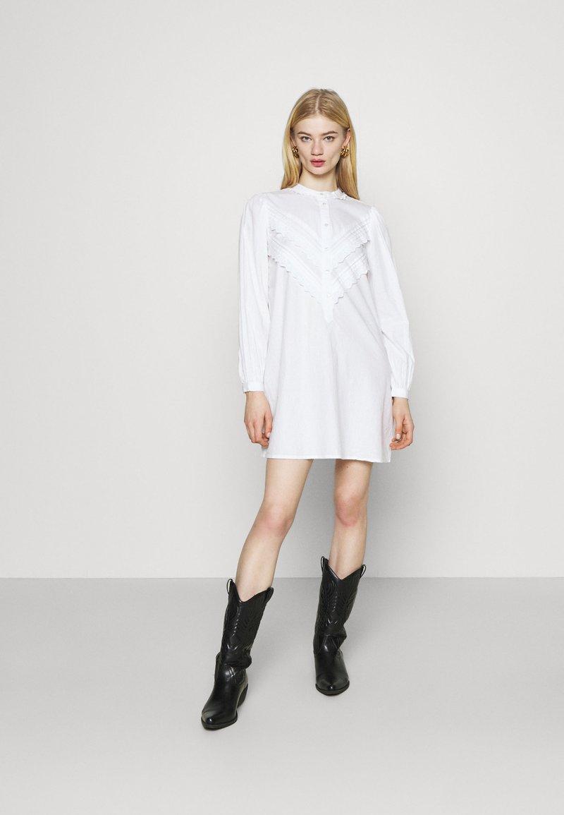 JDY - JDYMUMBAI LIFE - Shirt dress - white