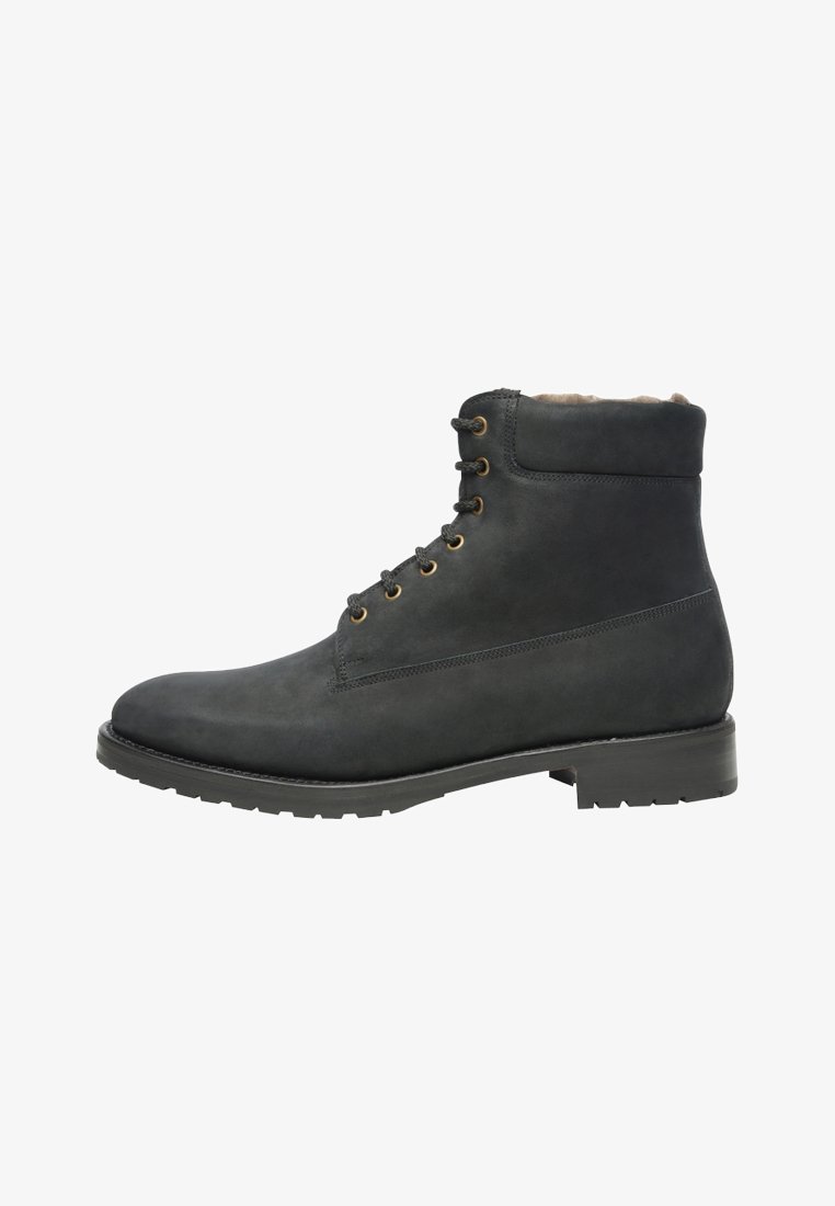 SHOEPASSION - NO. 695 - Lace-up ankle boots - anthracite