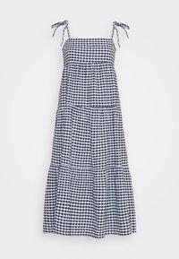 Seafolly - ELDORADOALLY GINGHAM TIERED DRESS - Complementos de playa - blue - 0
