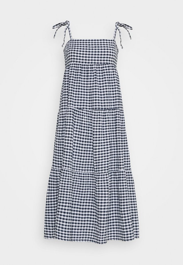 ELDORADOALLY GINGHAM TIERED DRESS - Complementos de playa - blue