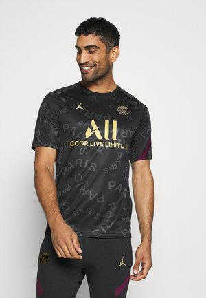 PARIS ST GERMAIN DRY  - Equipación de clubes - black/bordeaux/truly gold