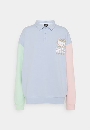 COLOUR BLOCK PLACKET - Sweatshirt - multi