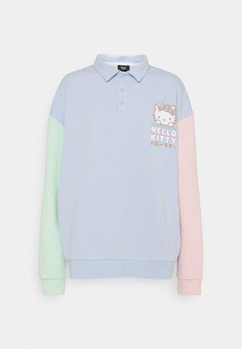COLOUR BLOCK PLACKET - Sweatshirt - multi