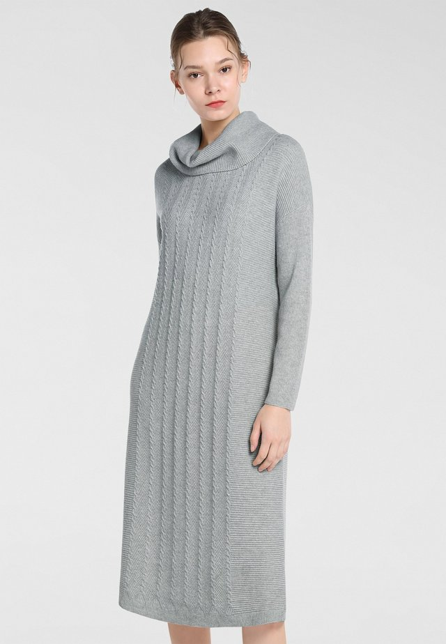 Jersey dress - hellgrau