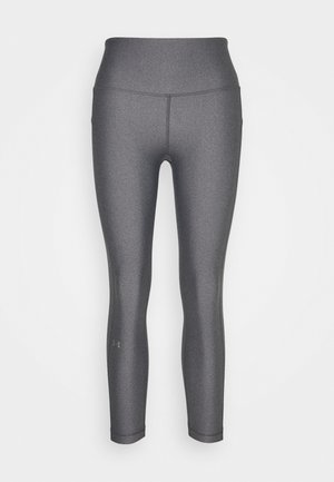 HI RISE CROP - Leggings - charcoal light heather