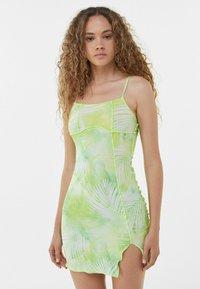 Bershka - Day dress - green - 0