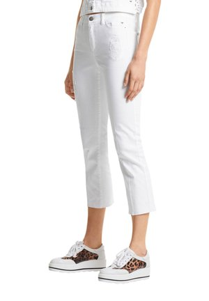 MARC CAIN DAMEN JEANS SLIM FIT VERKÜRZT - Slim fit jeans - weiss (10)