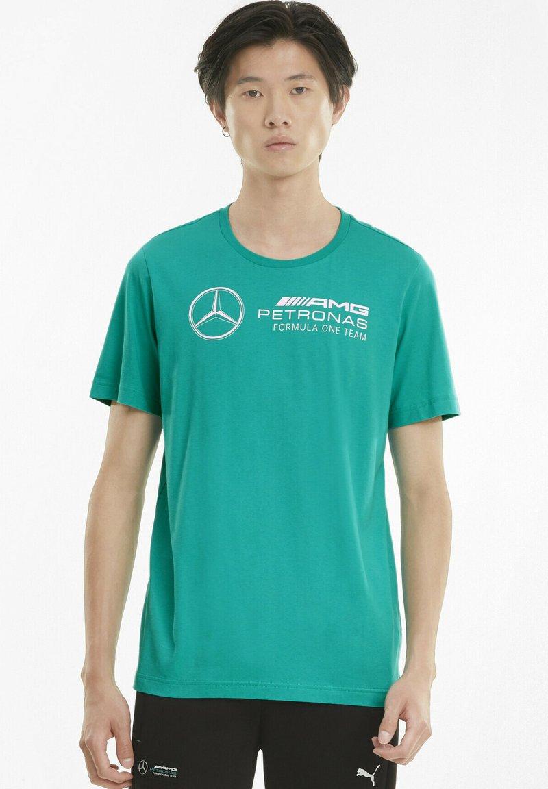 Puma - T-shirt imprimé - spectra green