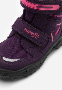Superfit - HUSKY - Zimní obuv - lila/rosa - 5