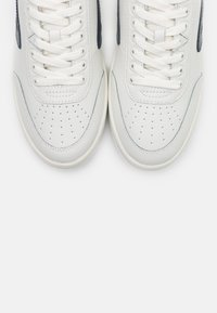 HUB - BASELINE - Sneakersy niskie - offwhite/gravel/ blue - 4