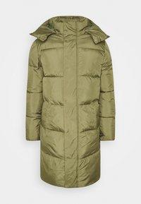 TOM TAILOR DENIM - MODERN PUFFER COAT - Cappotto invernale - tree moss green - 5