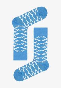 Natural Vibes - CLOUDS SOCKEN AUS BIOBAUMWOLLE - Socks - blue - 2