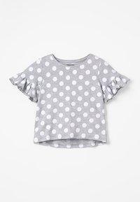 Zalando Essentials Kids - T-shirt print - mottled light grey - 0
