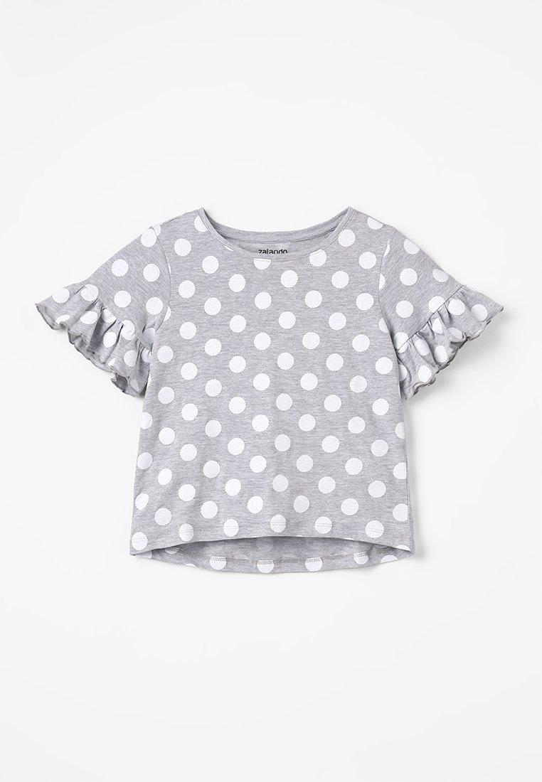 Zalando Essentials Kids - T-shirt print - mottled light grey