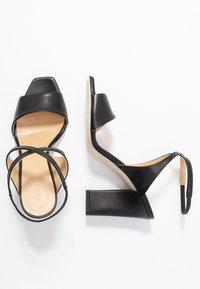 Aeyde - GABRIELLA - Korolliset sandaalit - black - 3