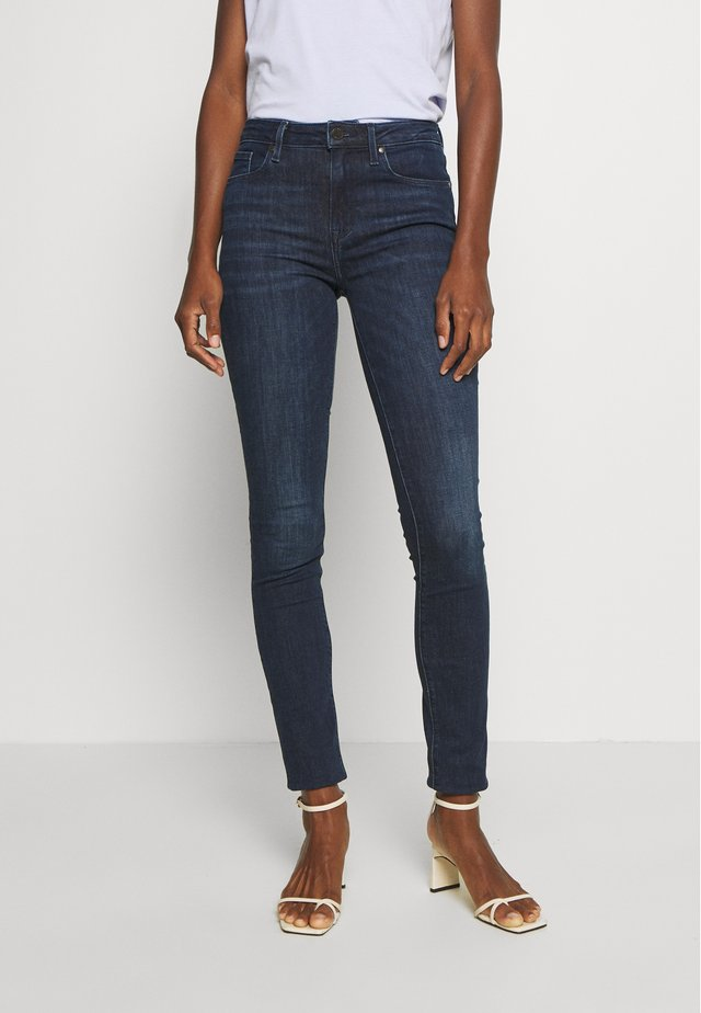 COMO  - Jeansy Skinny Fit - dark-blue denim