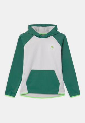 CROWN WEATHERPROOF UNISEX - Hoodie - antique green/lunar gray