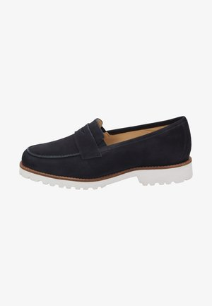 MEREDITH - Moccasins - blue