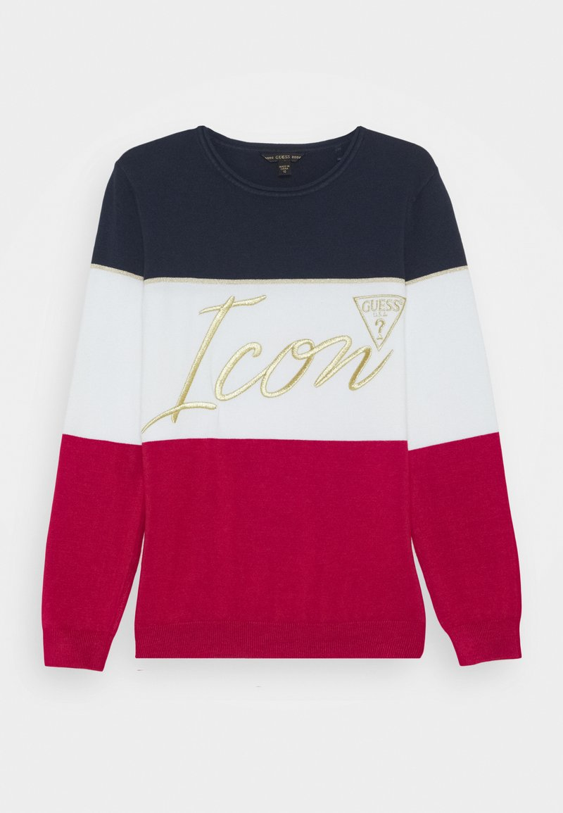Guess - Jumper - blue/red/white