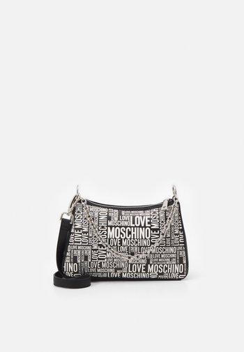 GRAFFITI SHOULDER BAG - Across body bag - black