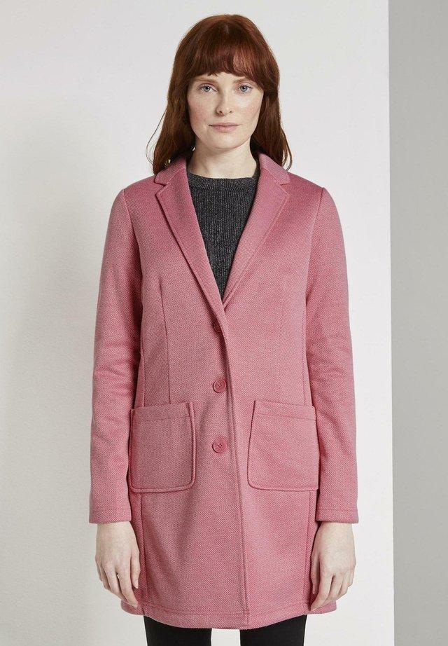 SPRING COATIGAN - Blazer - charming pink