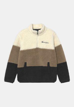 OUTDOOR HALF ZIP UNISEX - Fleece jumper - black