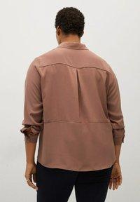 Violeta by Mango - Button-down blouse - dunkelorange - 2