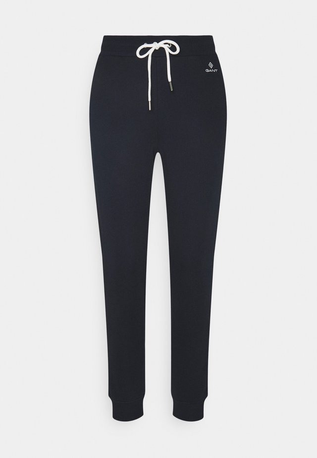 LOCK UP PANTS - Tracksuit bottoms - evening blue