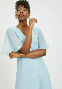 Vila - VIRILLA 2/4 SLEEVE DRESS - Vestito elegante - cashmere blue - 3