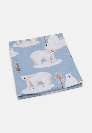 BLANKET POLAR BEAR UNISEX - Overige accessoires - blue