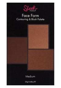 Sleek - FACE FORM CONTOURING KIT - Face palette - medium - 1