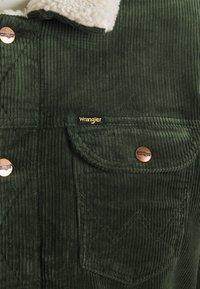 Wrangler - SHERPA - Light jacket - roisin green - 2