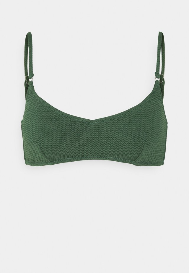 SEA DIVE BRALETTE - Bikini-Top - ivy