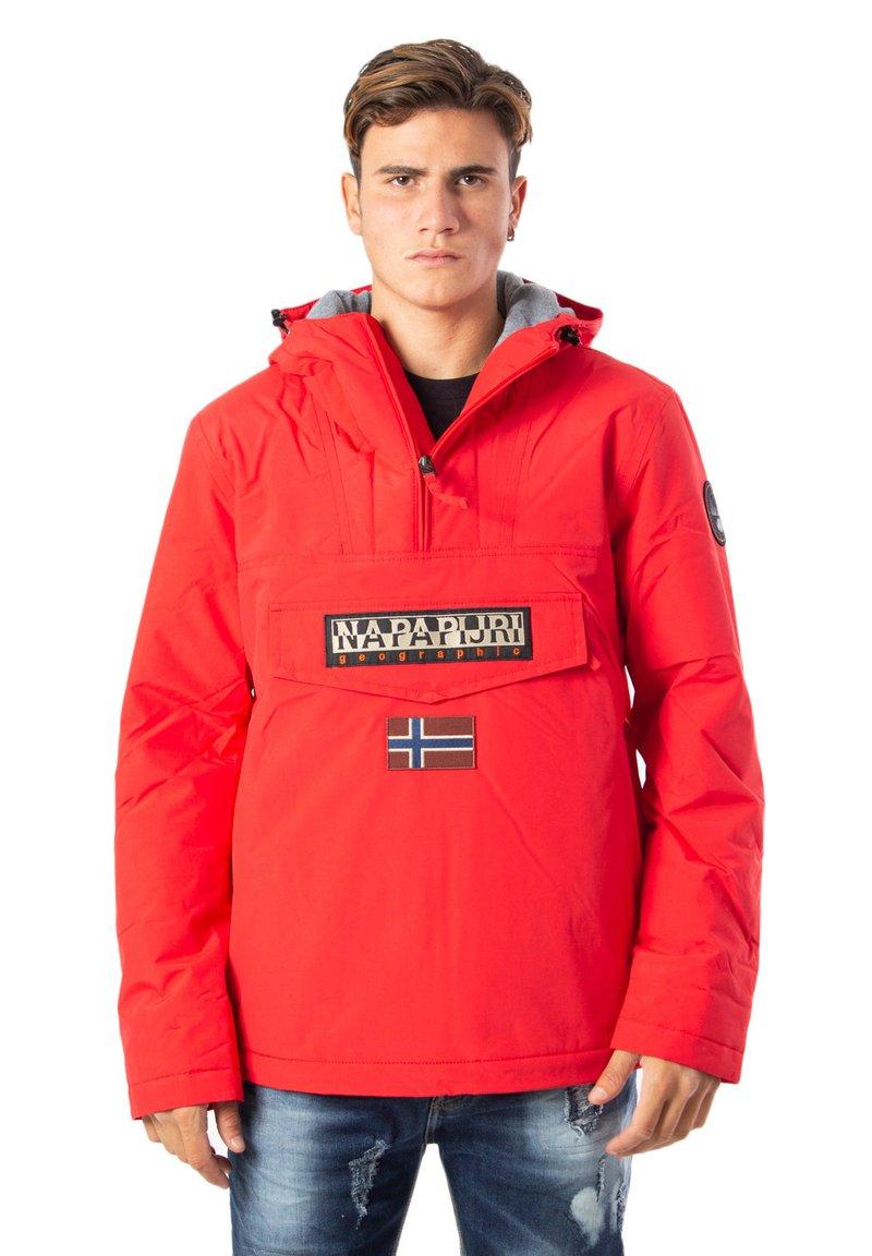 Napapijri - Winter jacket - mottled dark red