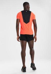 Diadora - RACE  TEAM - Pantalón corto de deporte - black - 2